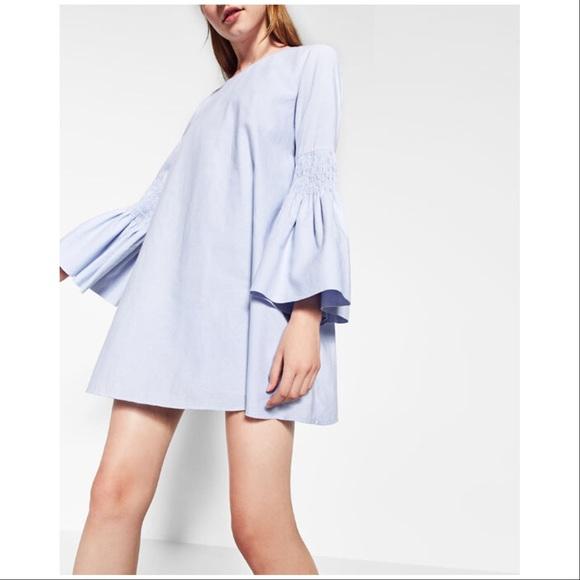 a208a51c Zara Trafaluc Collection Dresses | Dress Poplin Jumpsuit | Poshmark